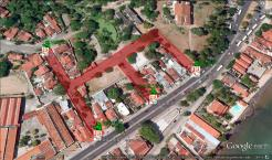 Esquema de trânsito no Carmo e no Mosteiro de São Bento durante a Fliporto 2014