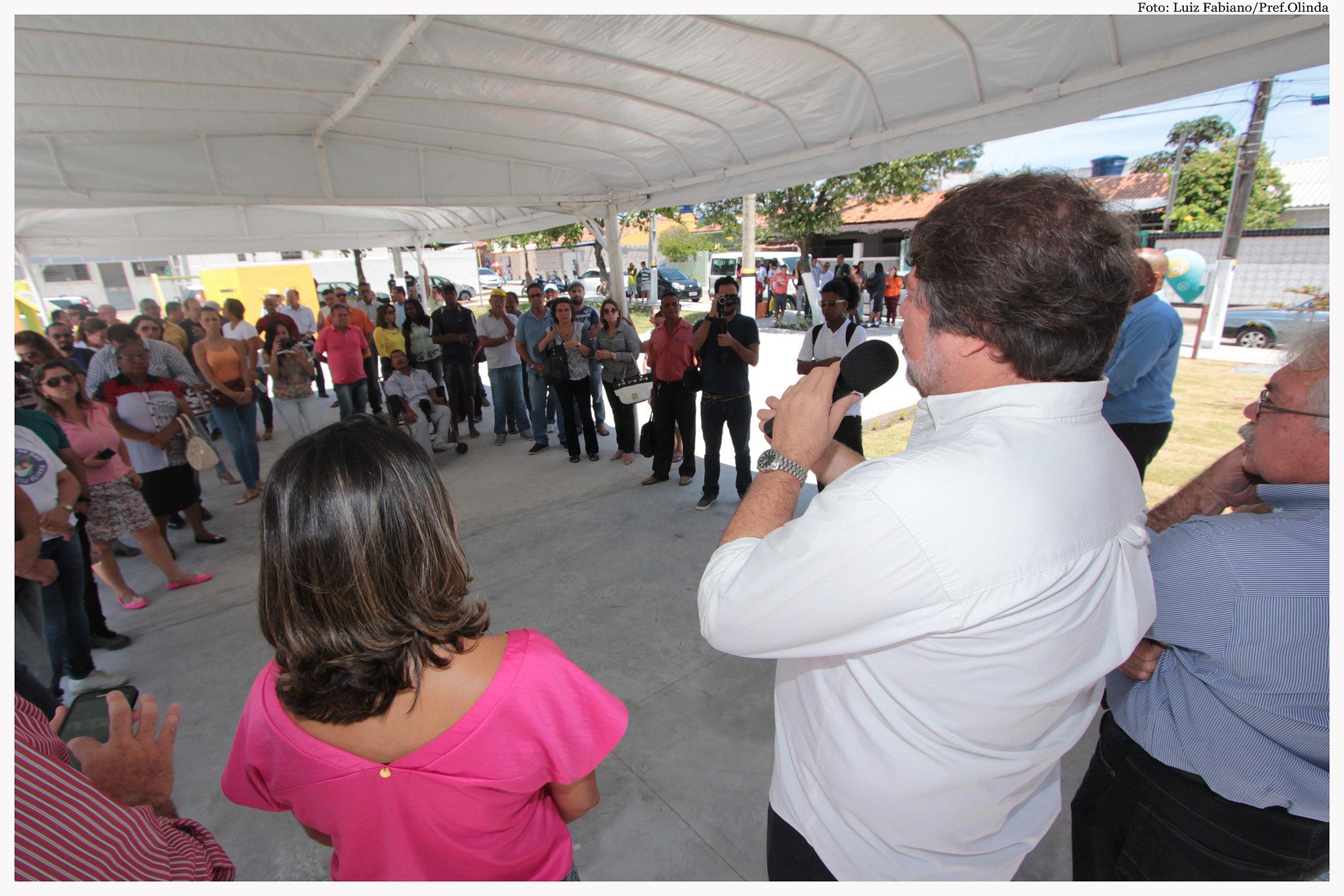 Inauguração da Academia da Saúde de Rio Doce. Fotos: Luiz Fabiano/Pref.Olinda