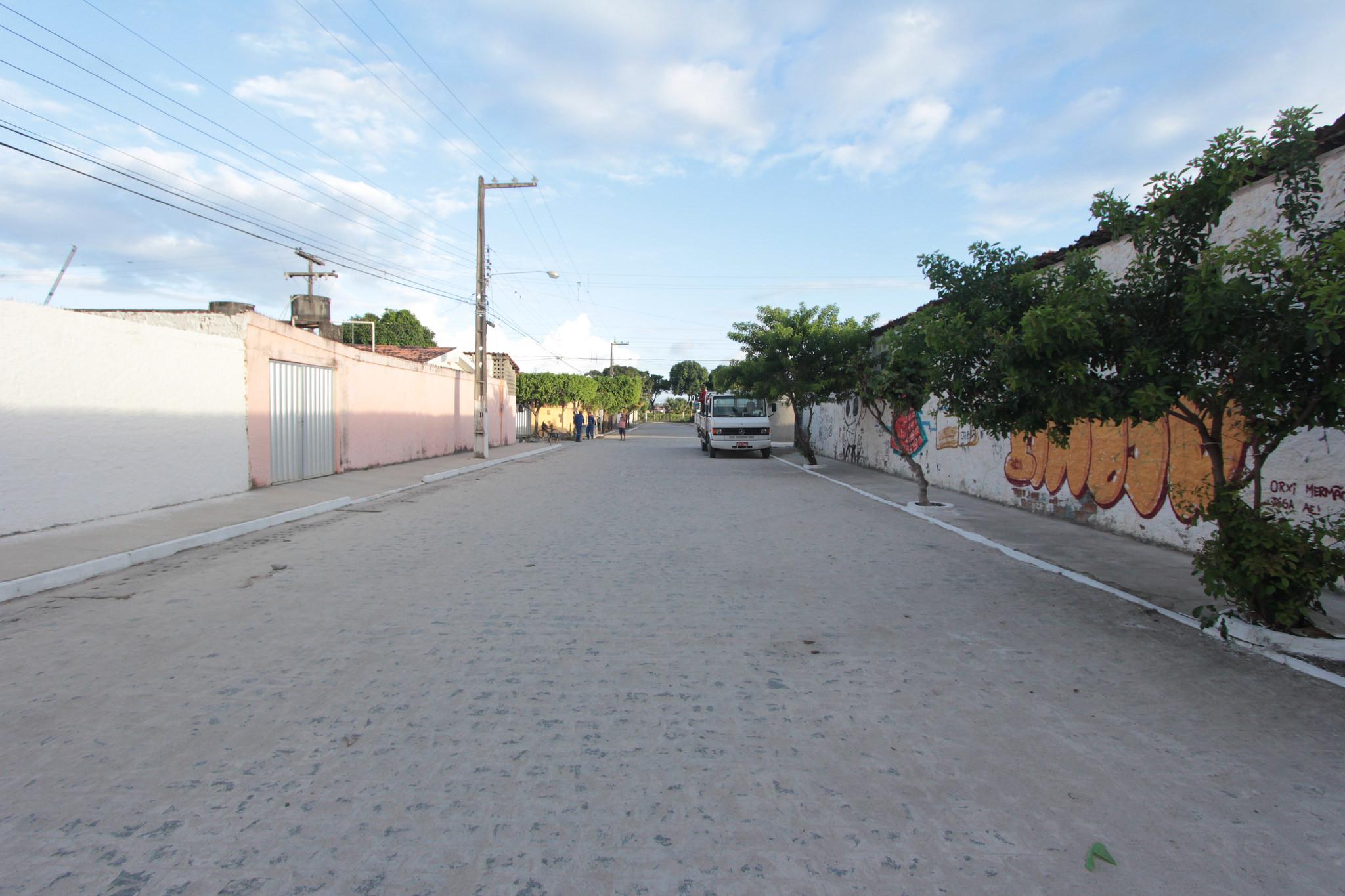 Rua Castanhal, em Jardim Brasil. Foto: Luiz Fabiano/Pref.Olinda