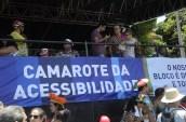 Camarote da Acessibilidade durante o Carnaval 2015. Foto: Diego Galba/Pref.Olinda