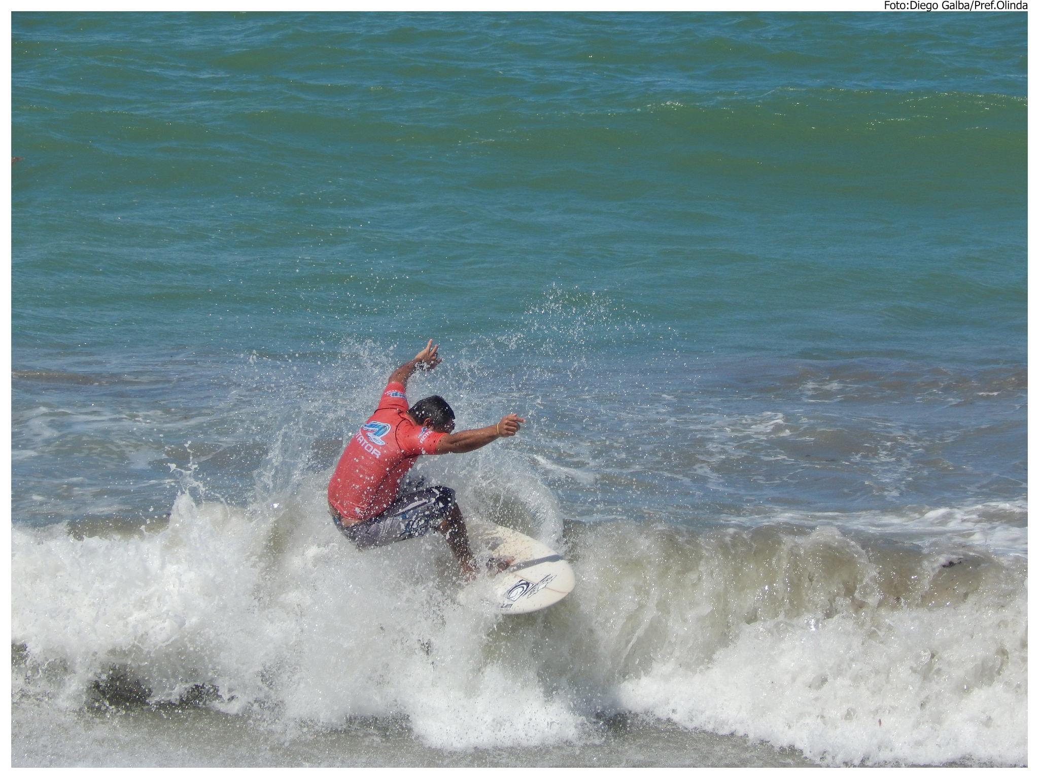 Olinda Surf 2015 acontece nos dias 29 e 30, na Praia de Zé Pequeno. Foto: Diego Galba/Pref.Olinda