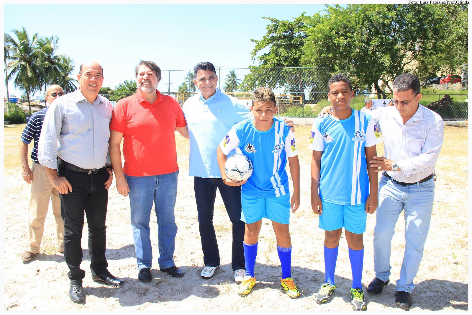 Projeto Futuro Campeão no Combate às Drogas. Foto: Luiz Fabiano/Pref.Olinda