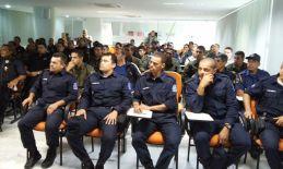 Agentes da Guarda Municipal de Olinda participam de Curso de Operador de Arma Não-Letal.