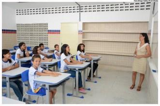 Inauguração da Escola Gregório Bezerra, em Ilha de Santana - Jardim Atlântico. Foto: Luiz Fabiano/Pref.Olinda