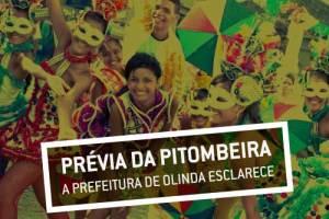Nota de esclarecimento sobre a Prévia da Troça Carnavalesca Pitombeira dos Quatro Cantos