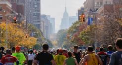 Mais de 50 mil corredores participaram da Maratona de Nova Iorque este ano. Foto: Divulgação