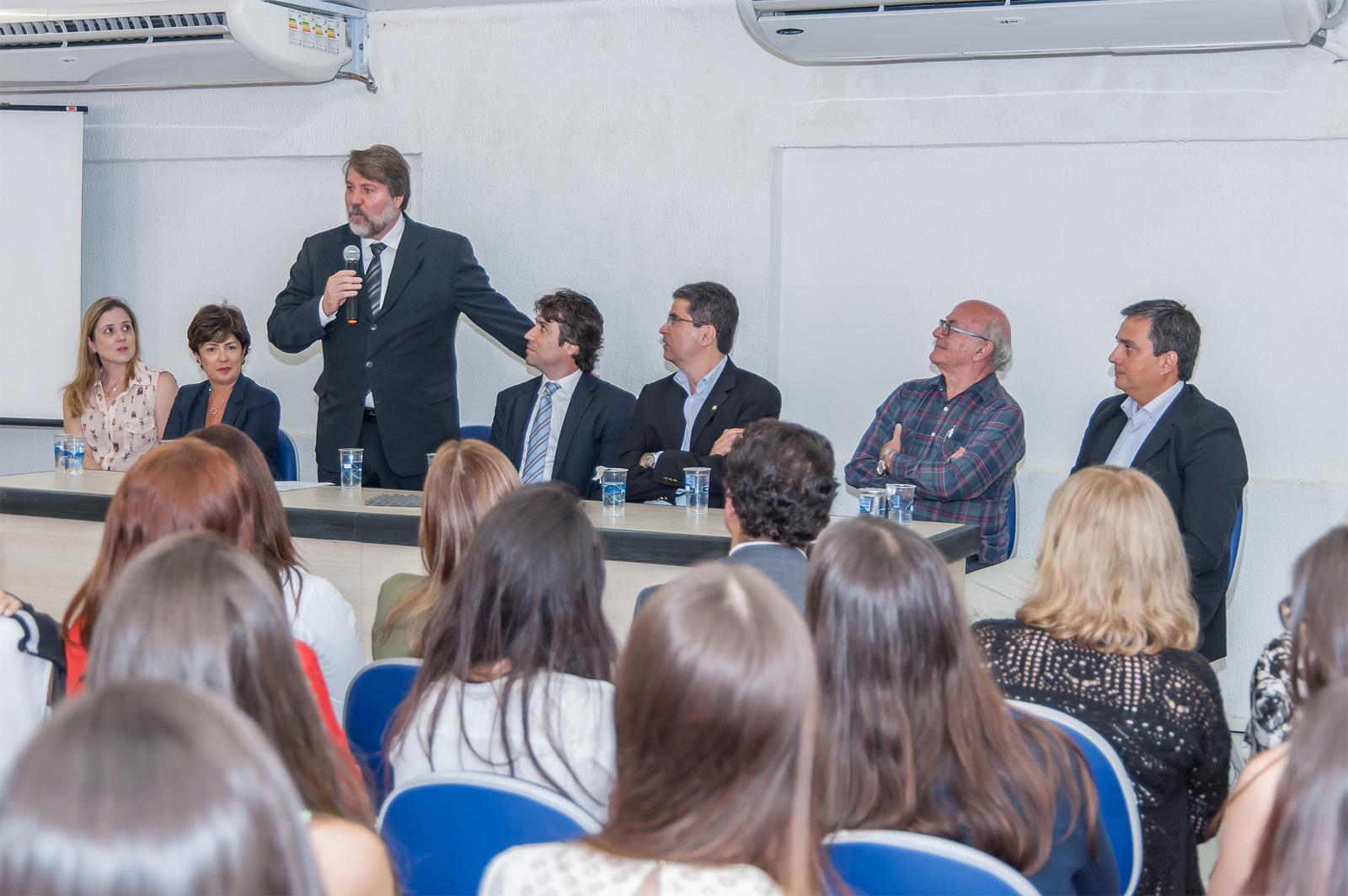 Aula inaugural da Faculdade de Medicina de Olinda (FMO). Foto: Jorge Gregório
