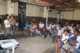 Escola Sagrado Coração de Jesus, no bairro de Amaro Branco também recebeu outra ação de combate ao mosquito transmissor de várias doenças. Foto: Tiago Peixoto/Pref.Olinda