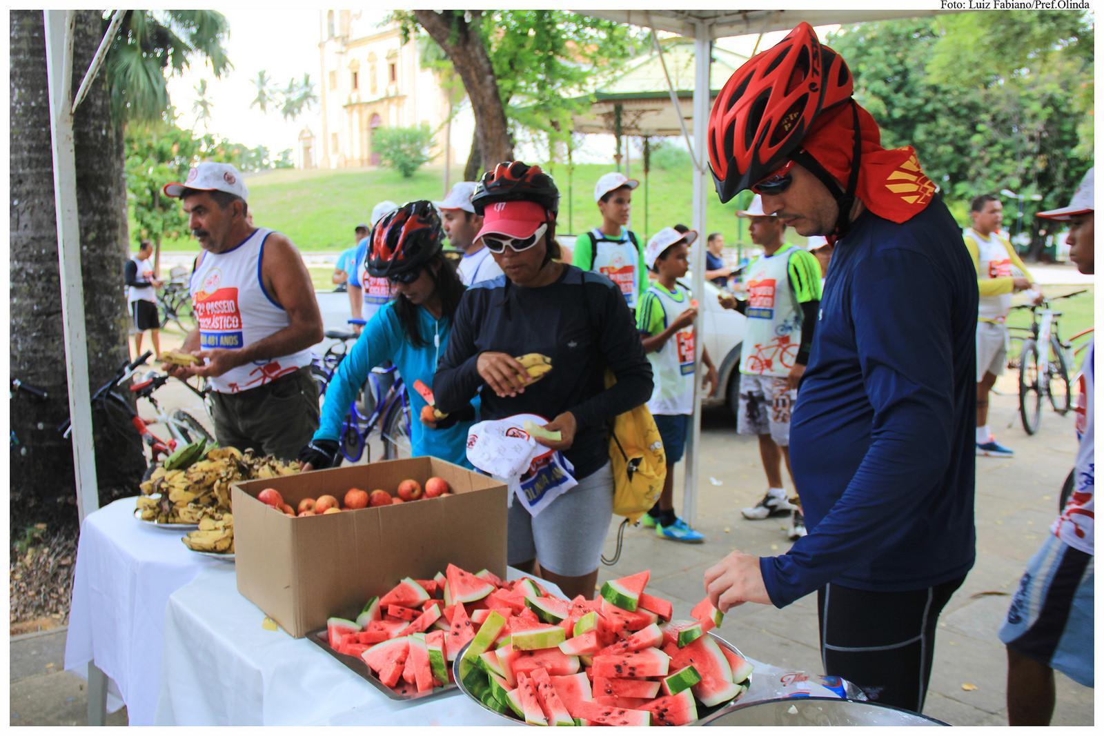 2º Passeio Ciclístico - Olinda 481 anos. Foto: Luiz Fabiano/Pref.Olinda