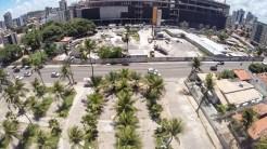 Obras de construção do Patteo Olinda Shopping, em Bairro Novo. Foto: Ytalo Silva/Pref.Olinda