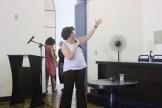 Primeira audiência sobre a revisão do Plano Diretor de Olinda. Fernanda Costa, profere a palestra inicial sobre o Plano Diretor. Foto: Rodrigo Barradas/Pref.Olinda