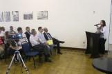 A promotora Belize Câmara fala sobre as questões legais da revisão do Plano Diretor de Olinda, durante a primeira Audiência Pública realizada no dia 29 de abril. Foto: Rodrigo Barradas/Pref.Olinda