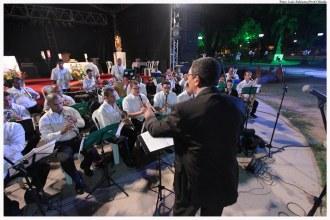 Apresentação da Banda Sinfônica do CEMO durante a Missa de Natal 2015, no Parque do Carmo. Foto: Luiz Fabiano/Pref.Olinda