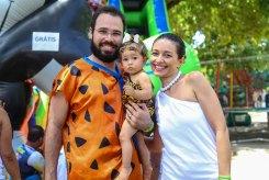 Gisele Ruy, Eduardo Silva e Alice Foto: Thiago Bunzen/Prefeitura de Olinda