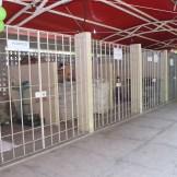 Baias de materiais recicláveis Foto: Alice Mafra/ Prefeitura de Olinda