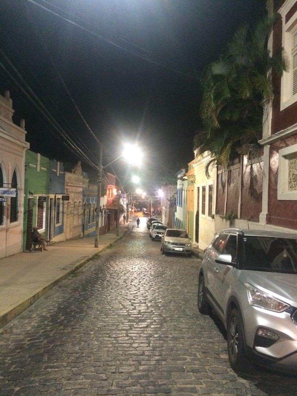 Nova iluminação no Sítio Histórico de Olinda