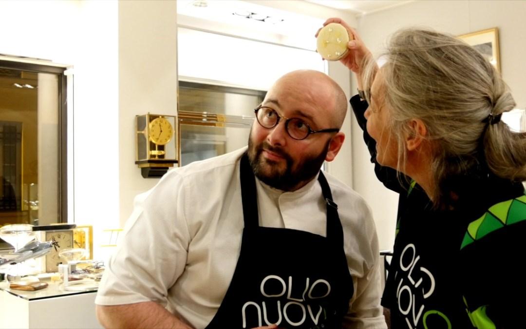 OLIO NUOVO DAYS 2017,  la vidéo de présentation «des et avec les» huiles chez Antoine de Macedo