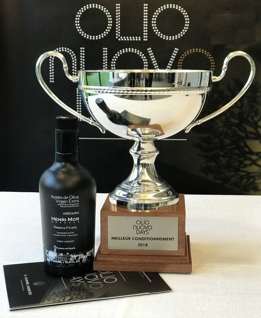 OLIO NUOVO DAYS 2018 WINNER FOR BEST PACKAGING