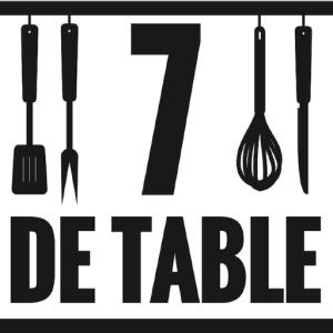 7 DE TABLE Fred Rico