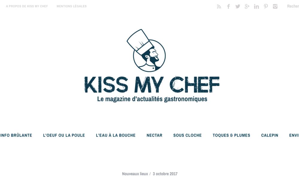 KISS MY CHEF : QUE FAIRE LE WEEK-END DU 13 ET 14 JANVIER 2018 ? LES 7 IDÉES À RETENIR