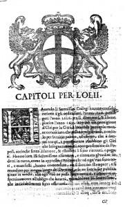 Capitoli per l'olii grida Repubblica di Genova XVII secolo Archivio Comunale di Cervo 185 (2)