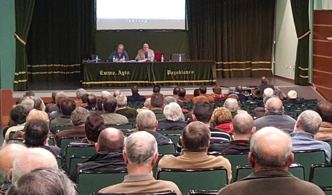 Asamblea general ordinaria olivarera los pedroches olivar de sierra aceite ecologico olipe olivalle