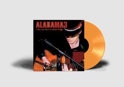 Alabama 3 - Last Train - Orange Vinyl - Mockup