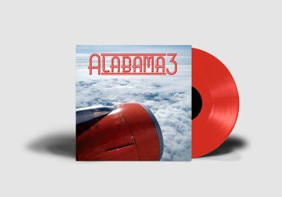 Alabama 3 - MOR- Red Vinyl - Mockup