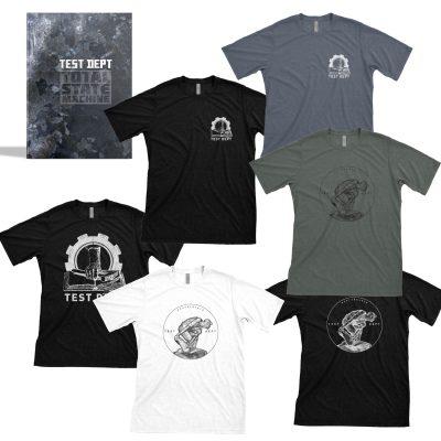 Test Dept - Book + T-Shirt Bundle