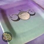 Triple Moon Plate