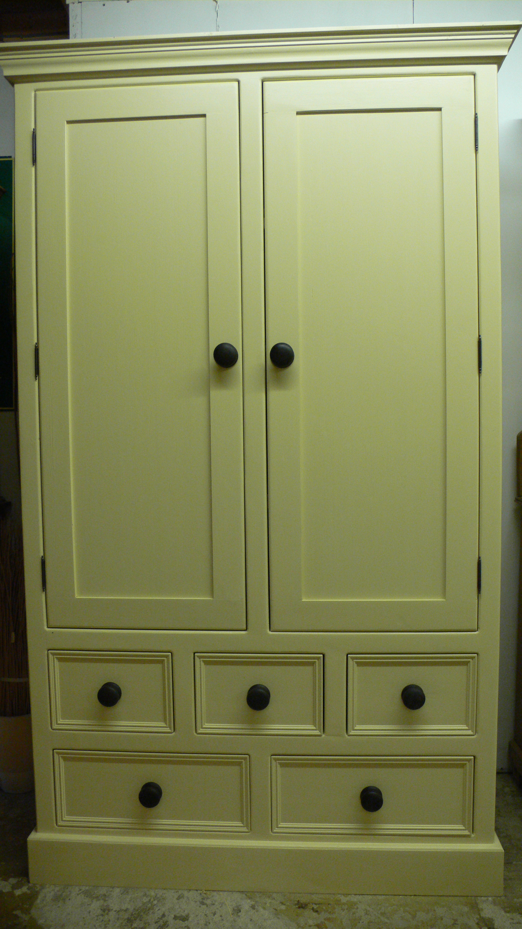 Painted Double Pantry Cupboard The Olive Branch Ltd The