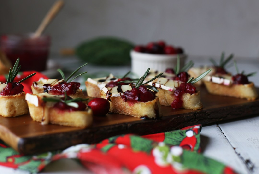 Cranberry and brie canap s for French canape ideas