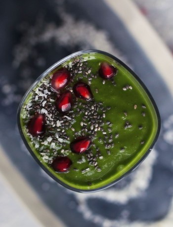 Winter Detox Coconut Green Smoothie