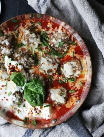 Roasted Italian Meat Balls