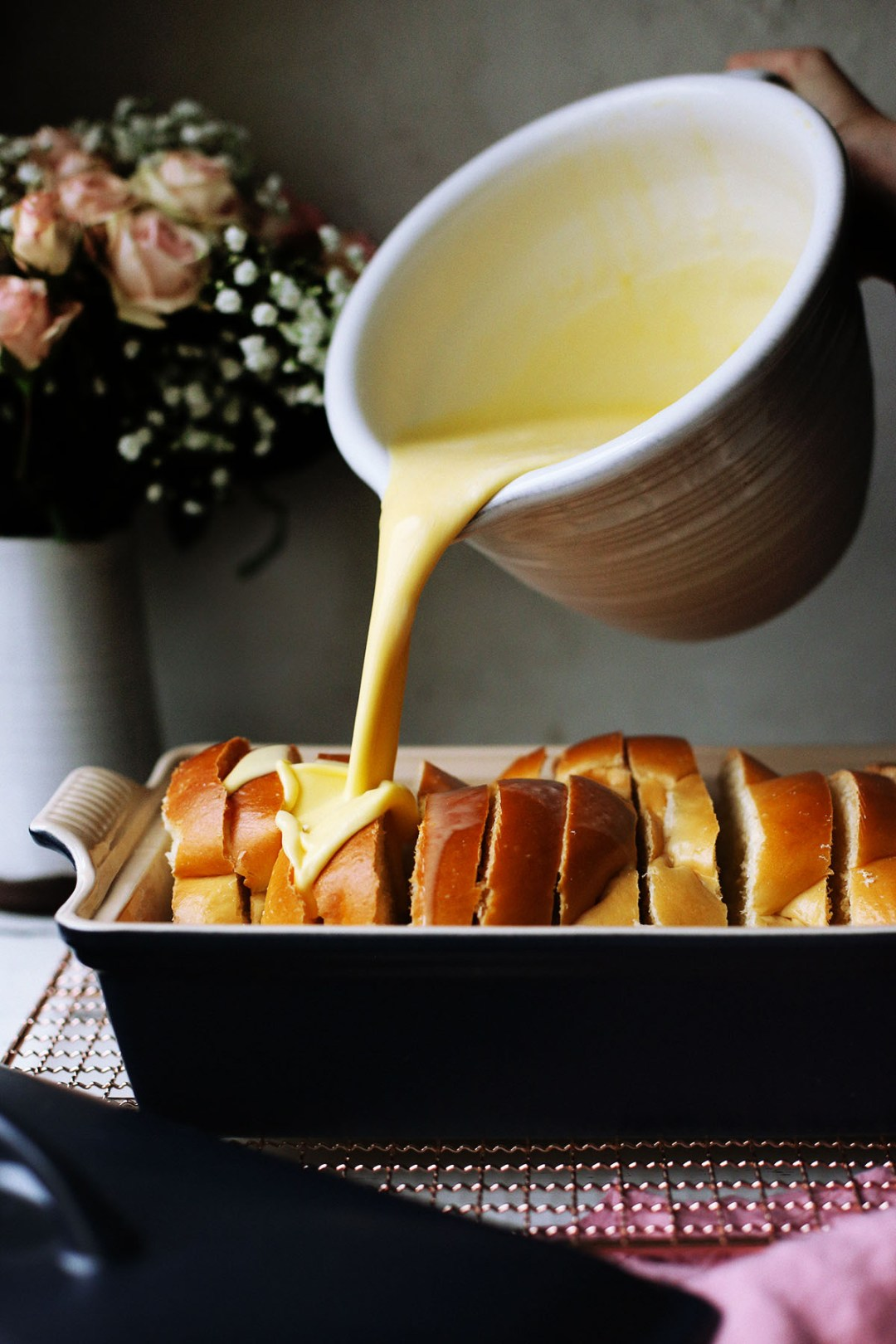 Challah Bread French Toast Casserole