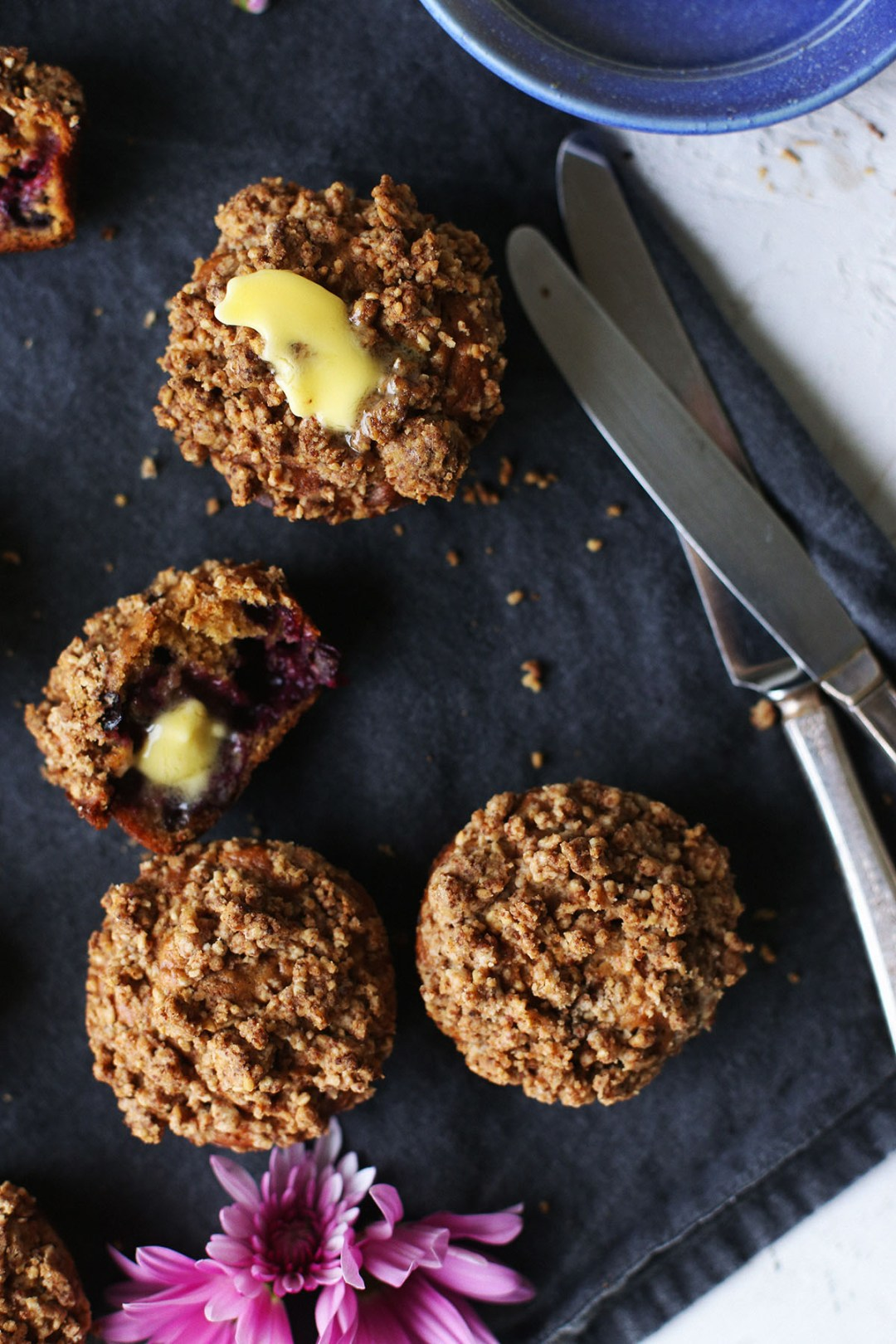 Power Packed Blueberry Muffins