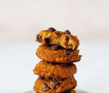 Gluten Free Pumpkin Chocolate Chip Cookie