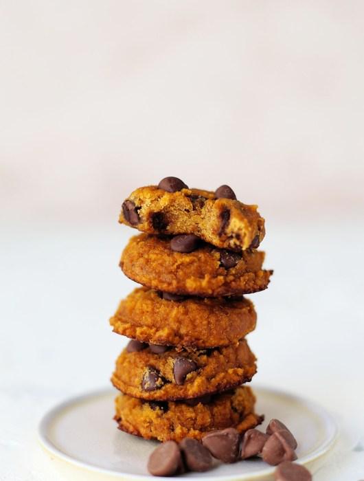 Gluten Free Pumpkin Chocolate Chip Cookie