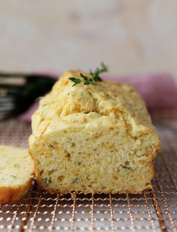 Cheddar and Thyme Quick Bread