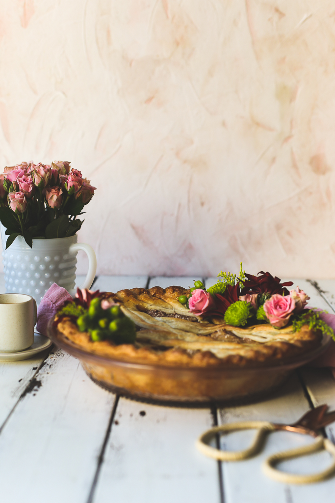 Apple Pie with Rosemary Buttermilk Crust