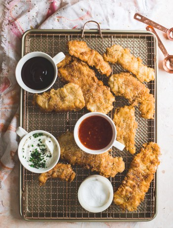 Homemade Pan Fried Chicken Fingers