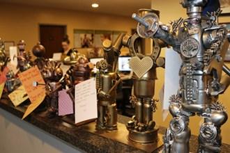 Robots Invade Olive Crest!