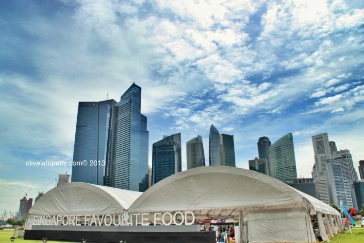 Makan enak di Singapore Favorite Food Festival