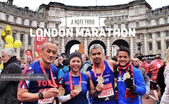 lari di london marathon