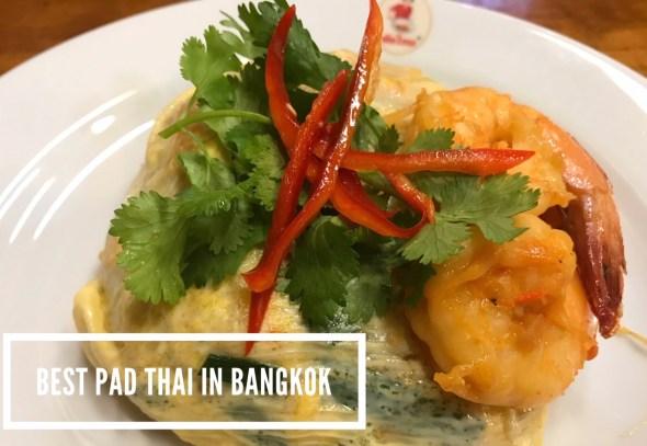 Mencoba PAD THAI Terenak di Bangkok