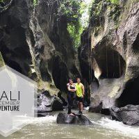 Having Fun di Hidden Canyon Beji Guwang Bali
