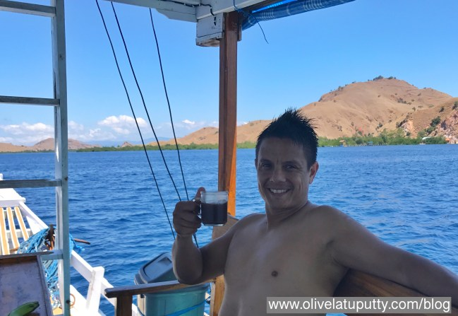 berlayar live on board di kepulauan komodo