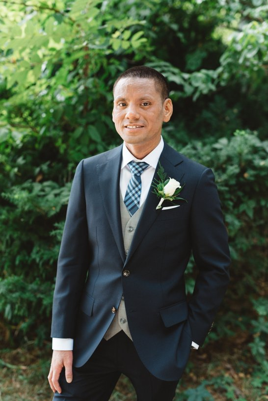 Navy Groom Suit | Olive Photography Toronto