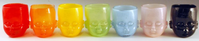 Baby Head Cup Rainbow