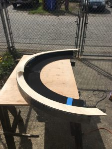 Setting the Top Flange